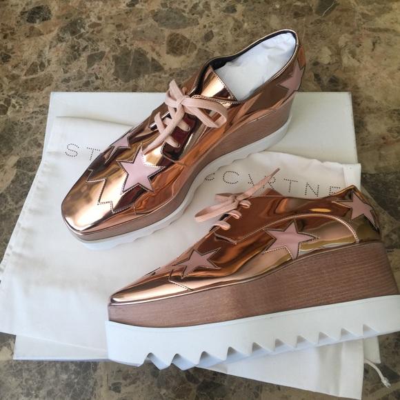 e85c75c1ca4 Stella McCartney Copper Elyse Star Shoes. M 5b296a09a31c3349fd126b7a